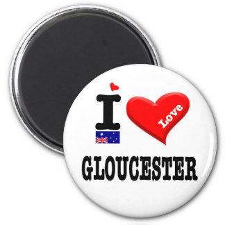 GLOUCESTER - I Love Magnet
