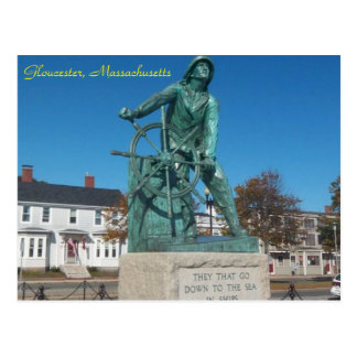 Gloucester, Massachusetts postcard