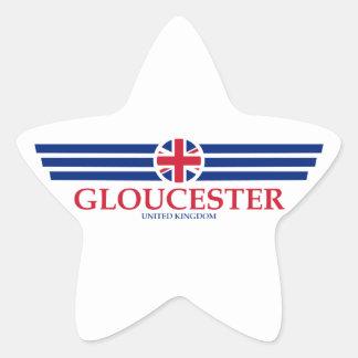 Gloucester Star Sticker