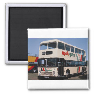 "Gloucestershire operator Applegates Bristol """"VRT"" Square Magnet"