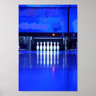 Glow Bowl Poster