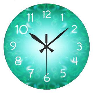 Glow Bubbles Clock