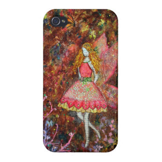 Glow (fairy) art by Janelle Nichol Covers For iPhone 4