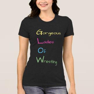 GLOW Gorgeous Ladies of Wrestling T-shirt