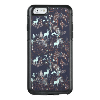 Glow in dark nature boho tribal pattern OtterBox iPhone 6/6s case