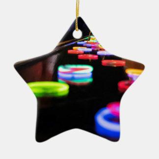 Glow In the Dark Ceramic Ornament