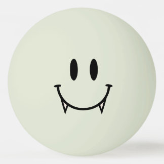 Glow in the Dark Vampire Smiley Ping Pong Ball