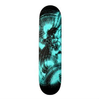 Glow In The Dark Zodiac Dragon Custom Pro Board Skate Decks