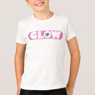 GLOW Kids T-Shirt Pink Logo