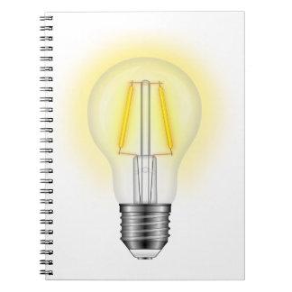 Glow Lamp Notebook