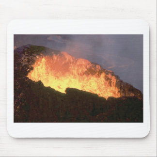 glow of volcanic fire mouse pad