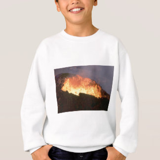 glow of volcanic fire sweatshirt