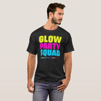 Glow Party Squad Gift Tee