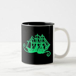 Glow Pirates! Two-Tone Coffee Mug