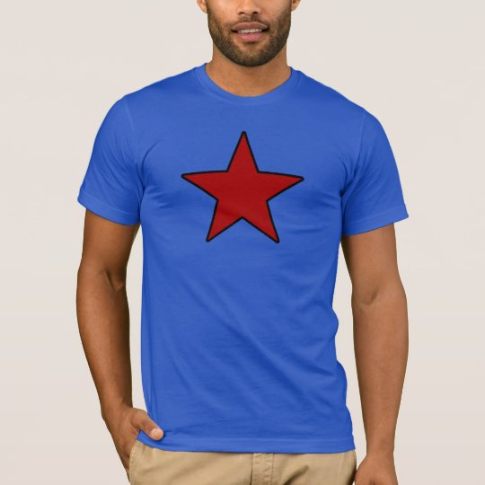 Glow red Star! T-Shirt