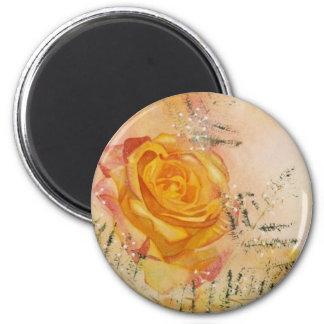 Glow Rose Magnet