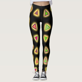 GLOW TRIANGLES LEGGINGS