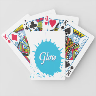 GLOW with happiness! Bicycle Playing Cards