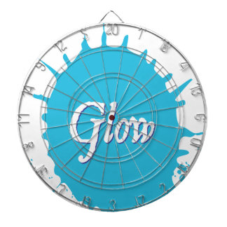 GLOW with happiness! Dartboard