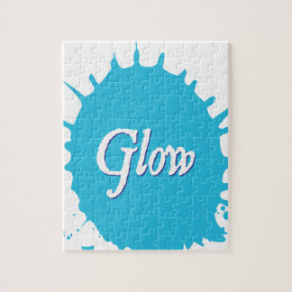 GLOW with happiness! Jigsaw Puzzle