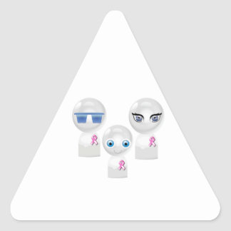 Glowbot BCA Family 1 Triangle Sticker