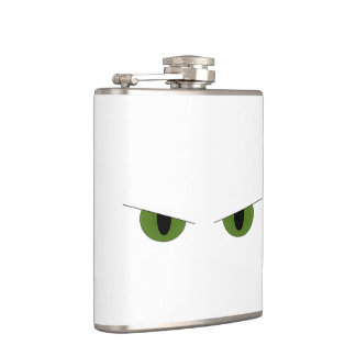 Glowering Cat Flask