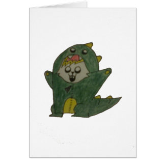 Glowie Dino Card