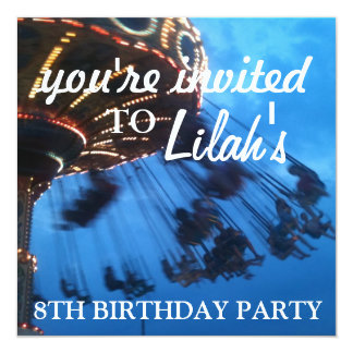glowing ;; beach - themed party invitation