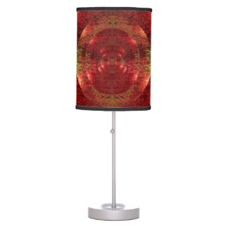 Glowing Beautiful Abstract 3D Psychedelic Lamp