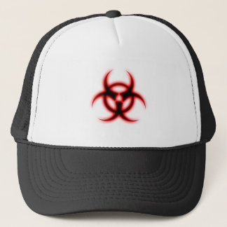 Glowing Biohazard Trucker Hat