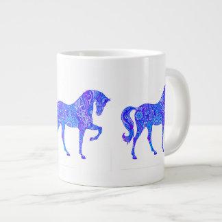 Glowing Blue Large Coffee Mug