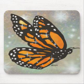 """""""Glowing Butterfly"""" Mousepad"""