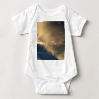 Glowing clouds baby bodysuit