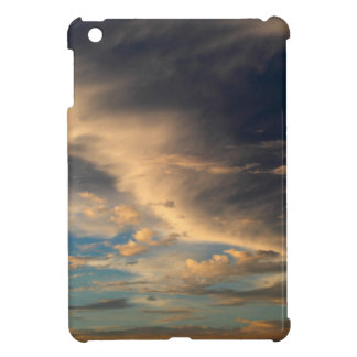 Glowing clouds iPad mini cover