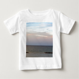 Glowing clouds over the Adriatic Sea in Italy. Baby T-Shirt