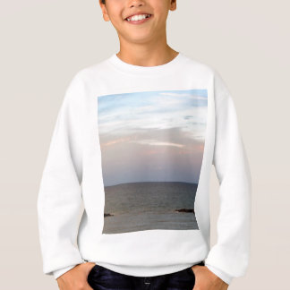 Glowing clouds over the Adriatic Sea in Italy. Sweatshirt