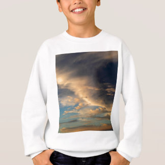 Glowing clouds sweatshirt