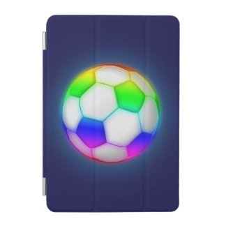 Glowing Colorful Soccer | Football Sport Gift iPad Mini Cover