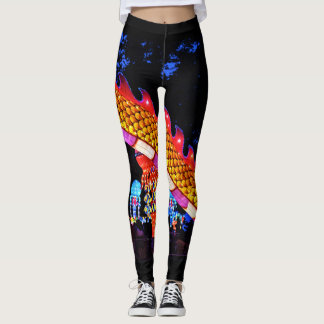 Glowing Dragon Legging by Steven Lee Climer