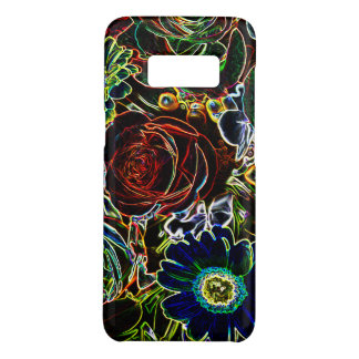 Glowing Edged Colorful Flower Bouquet Case-Mate Samsung Galaxy S8 Case