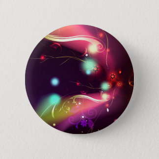 Glowing Flourishes 2 Inch Round Button