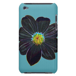 Glowing flower iPod touch cover