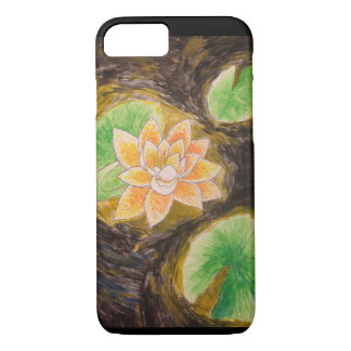 Glowing Flower Painting iPhone 7 Case *