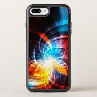 Glowing Fractal Pattern OtterBox Symmetry iPhone 8 Plus/7 Plus Case