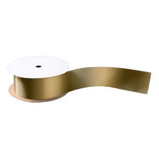 Glowing Gold Elegance Satin Ribbon