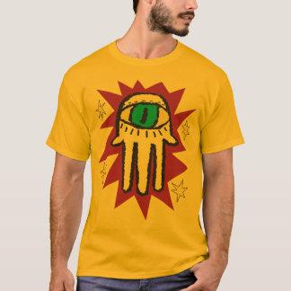 Glowing Hand of God Evil Eye Hamsa T-Shirt
