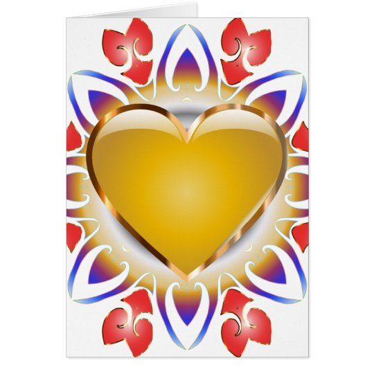 Glowing-Heart-Cards Card