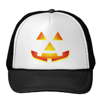 Glowing Jack 'O Lantern Pumpkin Face Hat