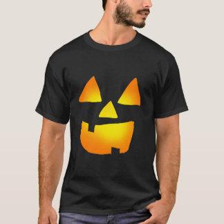 Glowing Jackolantern Face T-Shirt