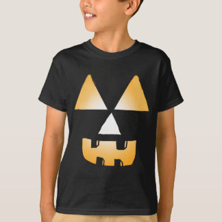 Glowing Jackolantern Face T-Shirt